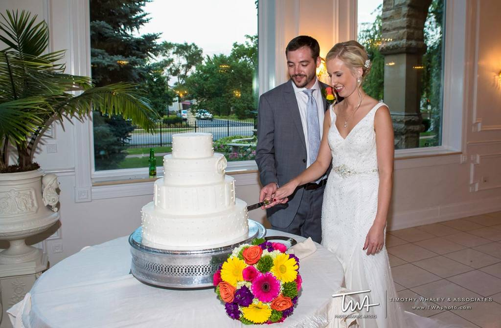 indoor and outdoor wedding ceremony and reception