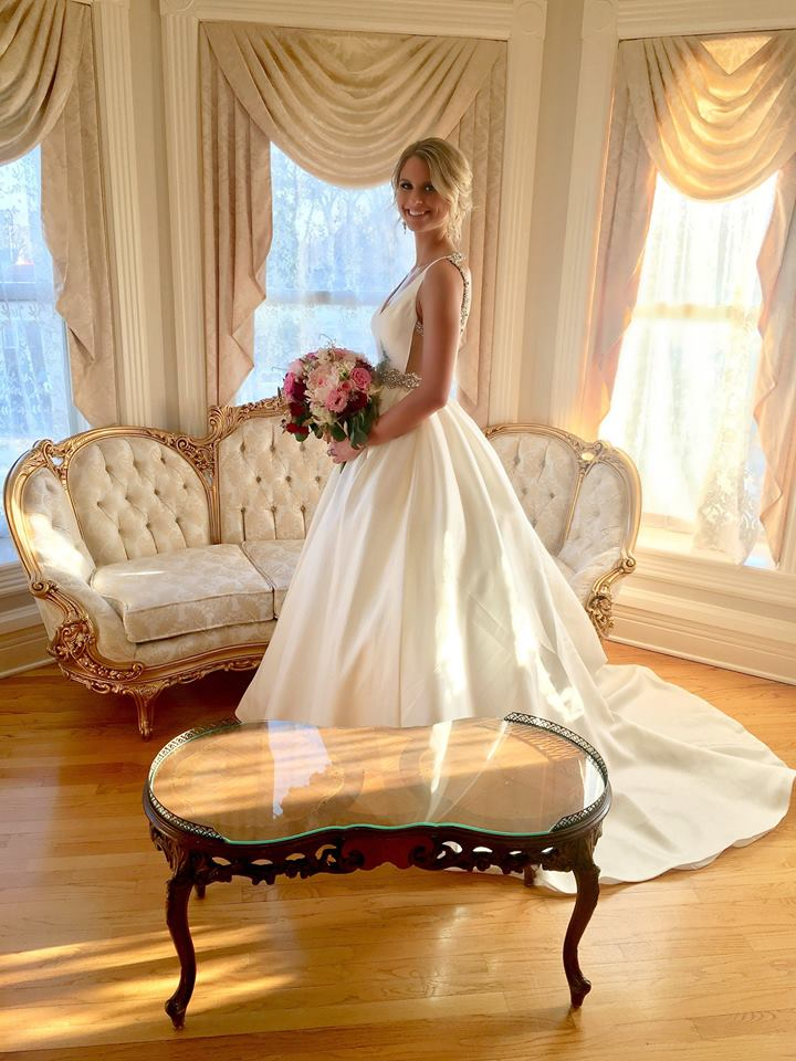 Wedding venue with bridal suite and photo opportunities