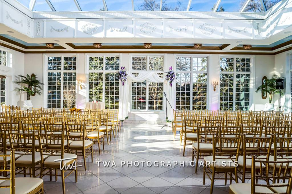 The Haley Mansion's Wedding Ceremony Space