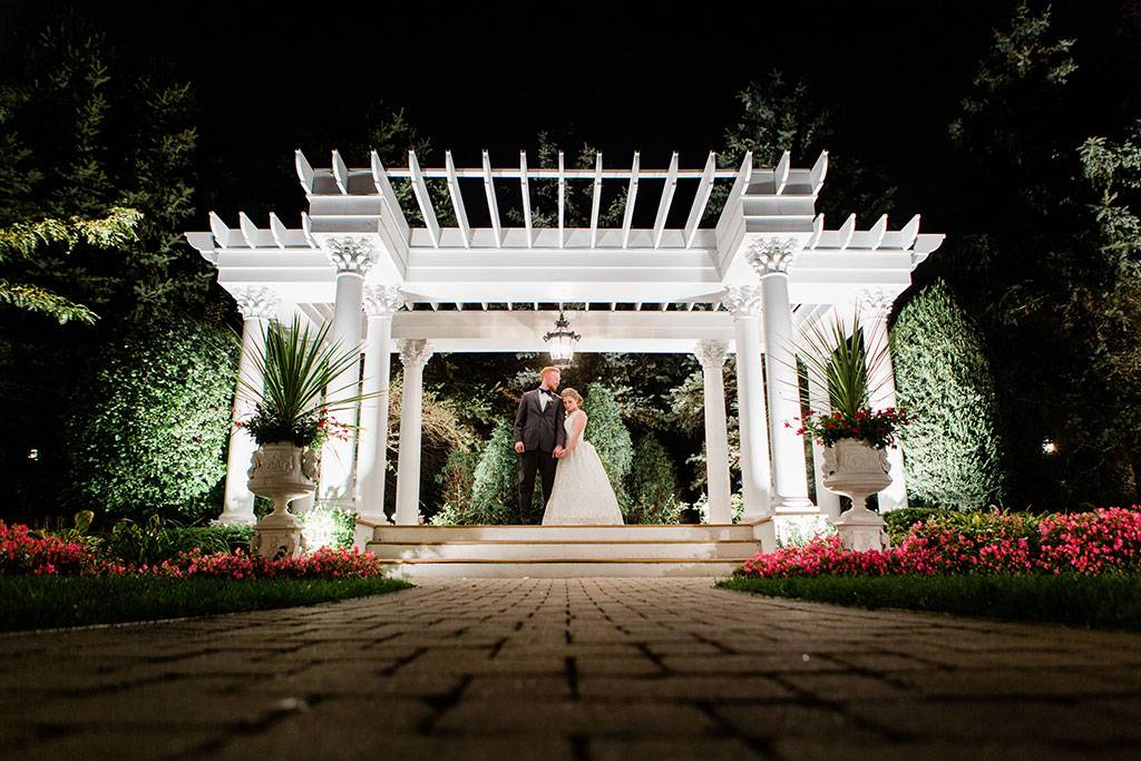 Pergola for Outdoor Wedding Ceremony